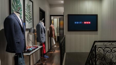 SUIT4MEN khai trương cửa hàng áo vest nam đầu tiên
